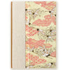 Art Ivory Hard Cover Journal (A5) - Cranes with yellow background, Journal, Kami - Kami