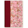 Art Ivory Hard Cover Journal (A5) - Sakura with Red binding - Kami Paper