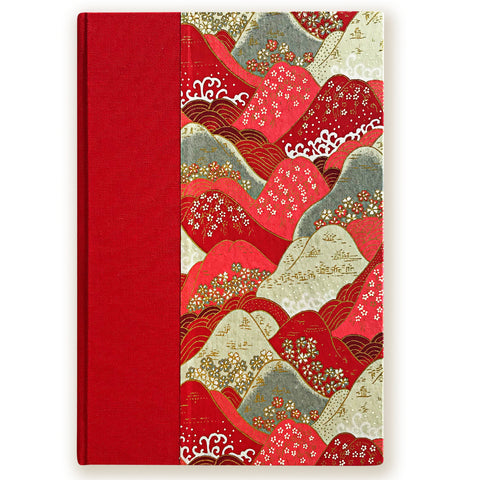 Art Ivory Hard Cover Journal (A5) - Mountain