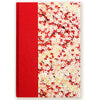 Art Ivory Hard Cover Journal (A5) - Red/Pink/White sakura - Kami Paper
