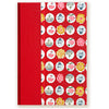 Art Ivory Hard Cover Journal (A5) -Red with Symbols, Journal, Kami - Kami