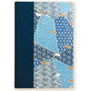 Art Ivory Hard Cover Journal (A5) -shades of blue - Kami Paper