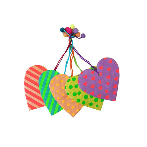 Nepalese Gift Tags - Carnival Collection