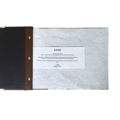 Post Bound Photo Album (250X315Mm), Customised Album, Kami - Kami