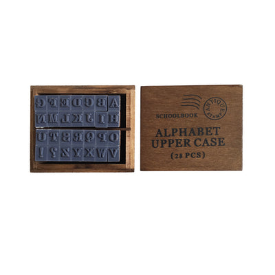 Alphabet Rubber Stamp | Upper Case