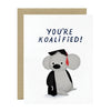 Card | You're Koalafied!