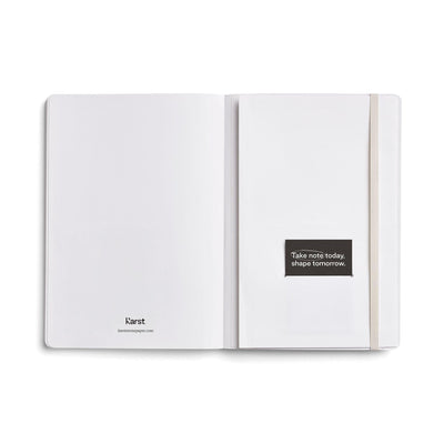 Karst | Softcover Notebook | A5 | Unlined | Stone