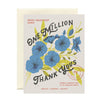 Card | One Million Thank Yous