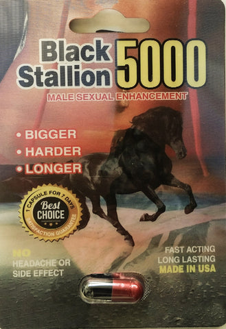 Black Stallion Male Sexual Enhancement Pill