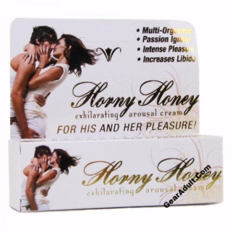horny horny stimulating exhilarating arousal cream