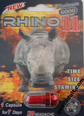 rhino platinum male sexual enhancement pill
