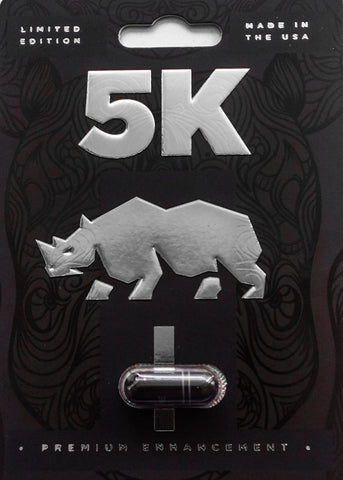 Black Rhino 5K Pill Premium Male Enhancement