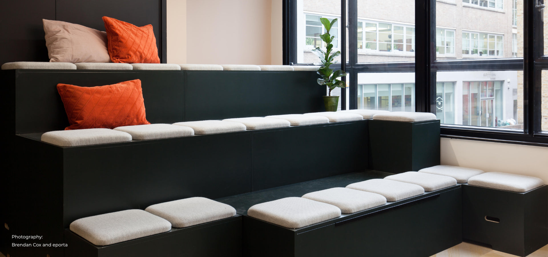 tiered office seating eporta london