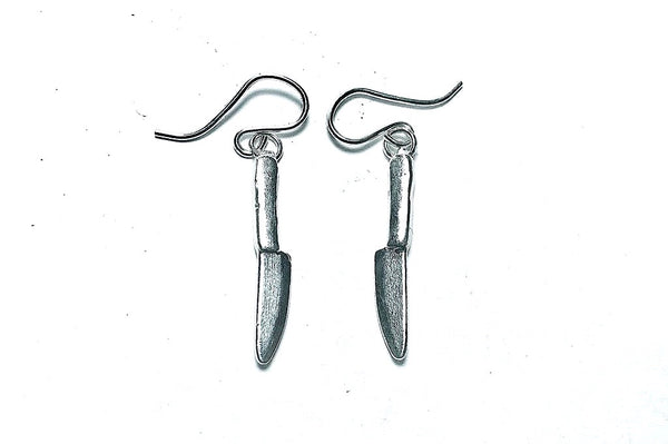 Knife Dangle Earrings