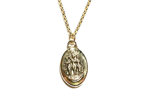 Triple Goddess Necklace