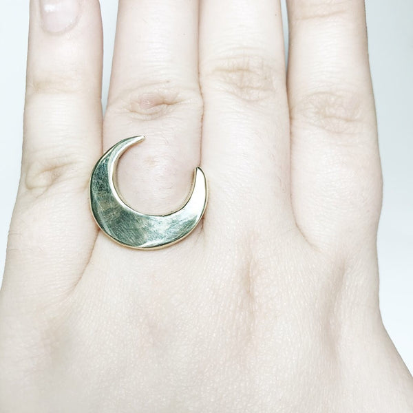 Majestic Moon Ring