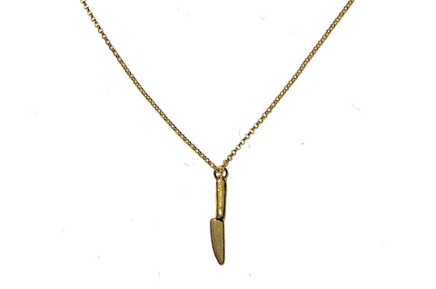 Single Knife Necklace