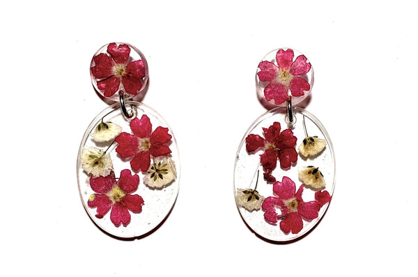 Veracious Verbena Earrings