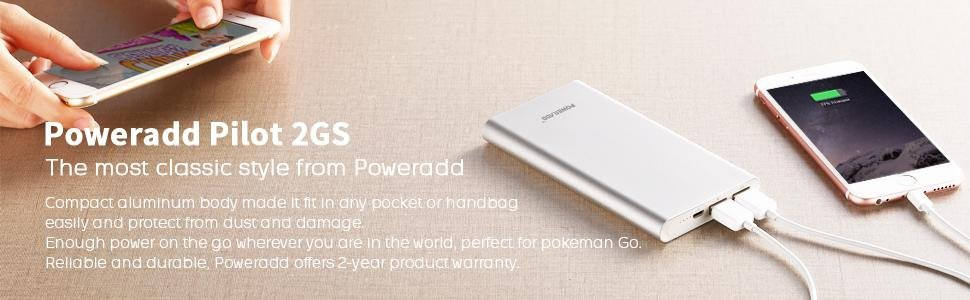 poweradd 2gs 10000mah power bank