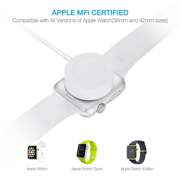 MFi Certified Apple Watch Charging Cord , Apple Watch Charging Lead