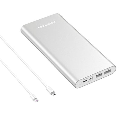Cell Phone Power Bank Portable Charger with Lightning Cable