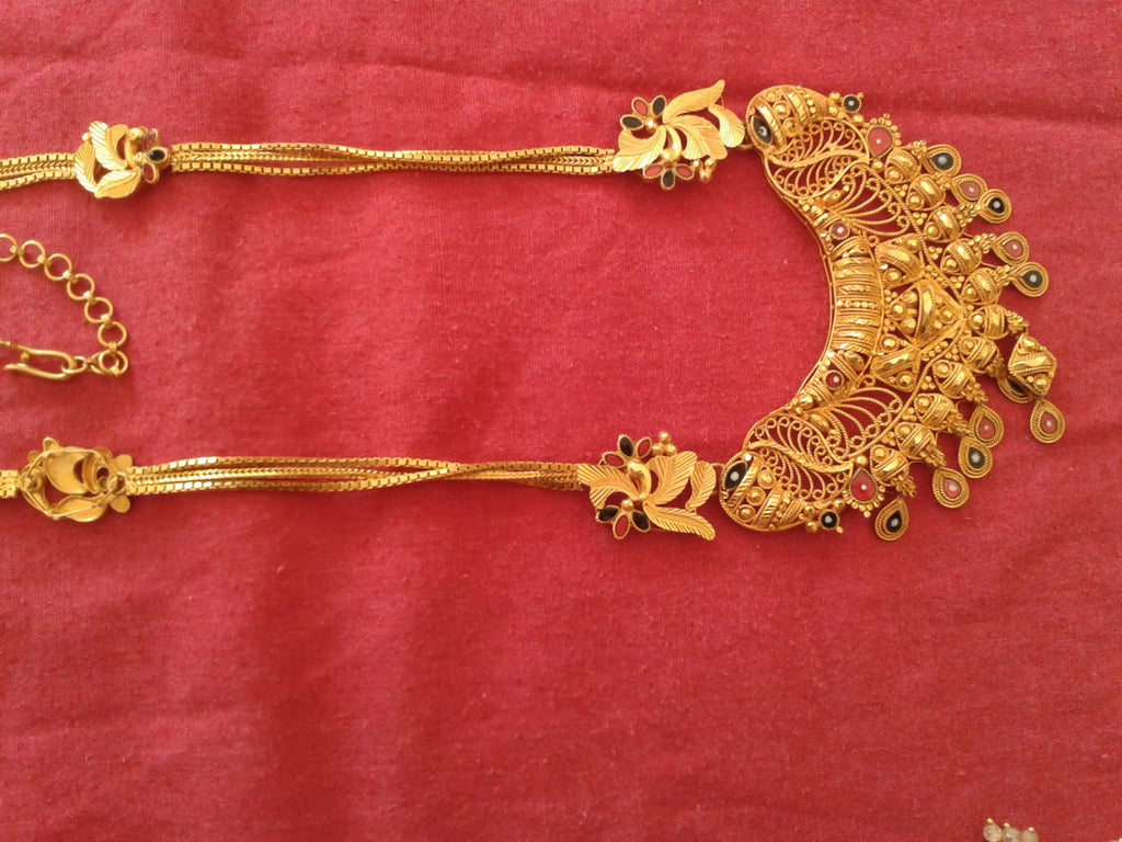 Wedding jewellery in India-Haaram