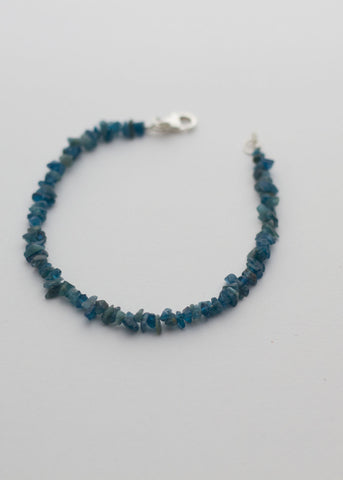 Natural Apatite chip beads bracelet - Carline Perulla