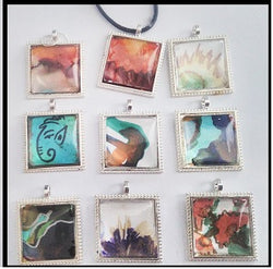 Art work pendants - workshop in Barking