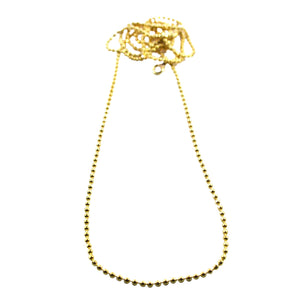 Solid Brass Ball Chain 70cm
