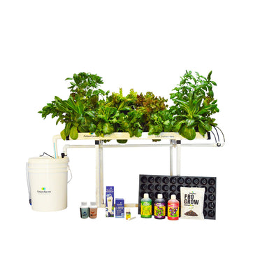 Leaf Station Neo Hydroponic Grower's Kit (15 planter NFT)