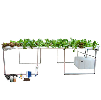 Leaf Station Pro Hydroponic Grower's Kit (108 planter NFT)