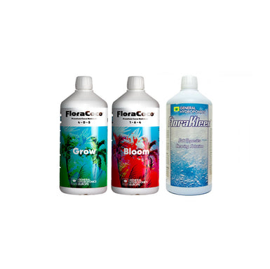 GHE Flora Coco Series Tri-Pack 500ml Hydroponic Nutrient