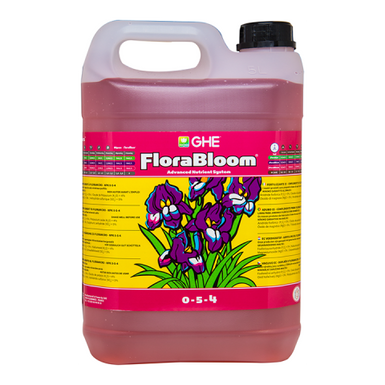 GHE Flora Series Bloom Hydroponic Nutrient