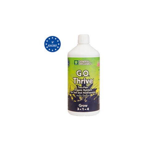 GHE G.O Thrive Grow Hydroponic Nutrient 500ml