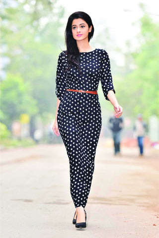 Aaina by Sanchari-Black Maxi Dress