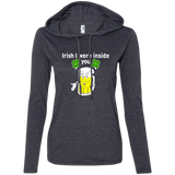 Irish I Were Inside You Ladies Hoodie