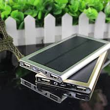 NEW Ultra-thin Solar Power Bank Multi Purpose Charger