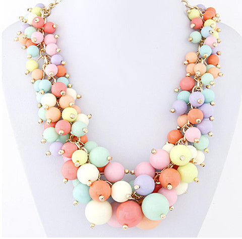 BOHEMIAN BEAD NECKLACE