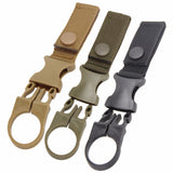 NYLON MOLLE WEBBING WATER BOTTLE BUCKLE HOOK (SURVIVAL)