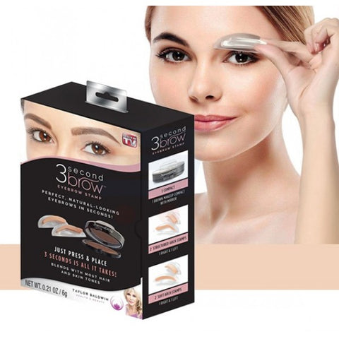 3 Second Brow Eyebrow Stamp - Perfect, Natural-Looking Eye Brows in Seconds