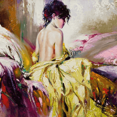 Painting nature & beauty girls