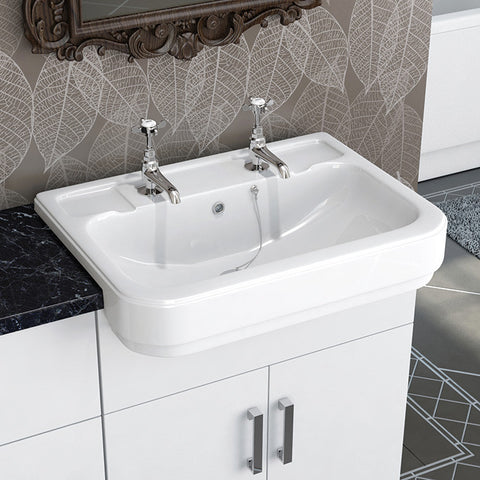 Hamilton Semi Recess Basin