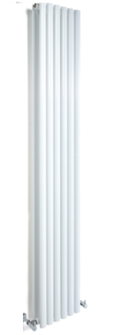 Designer White Double Radiator 1800H X 353W