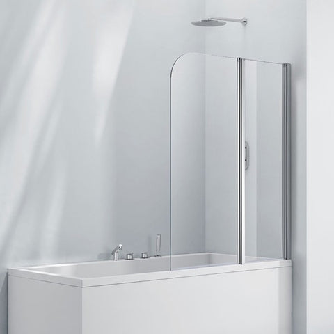 Double Folding Bath Screen