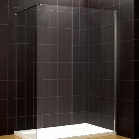 8mm Frameless Wet Room Shower Screen