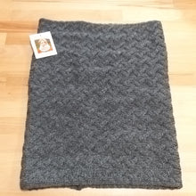Traditional Aran Supersoft Merino Snood B859