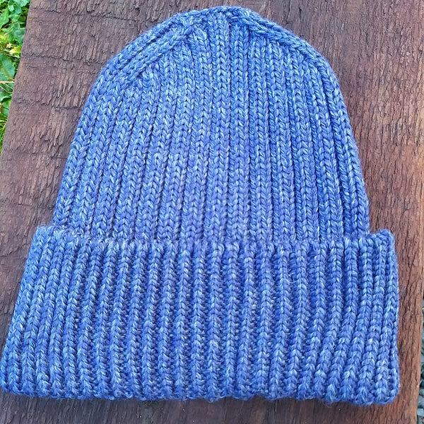 Irish Fisherman Ribbed Unisex Beanie