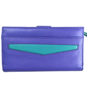 Large, Vibrant Ladies Leather Purse