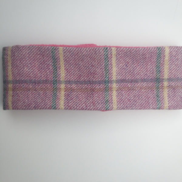 Handmade Scottish Tweed Heather Headband