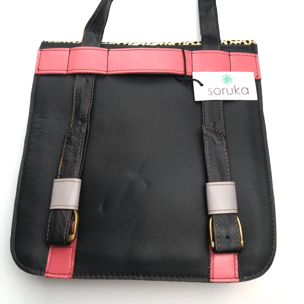 Soruka Leather Backpack